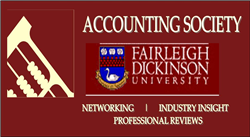 Accounting Society Logo HALF