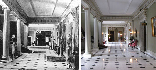FoF hallway then and now FULL
