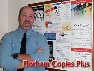 Copy Center: Rob at Florham FULL