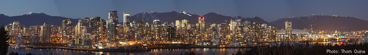 Vancouver Night Banner
