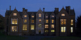 Wroxton Abbey at Night LOGO