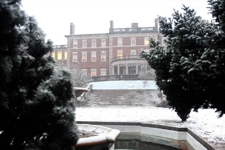 Dickinson College Campus Snow