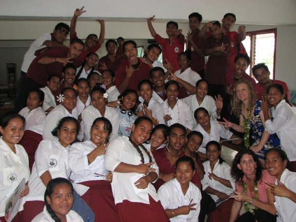 Micronesia students