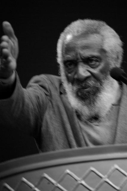 dick gregory on top
