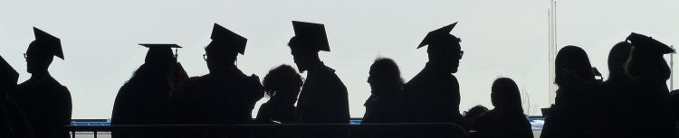Commencement Silhouette