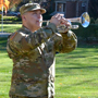 FDU salutes lost veterans with the playing of �Taps.�