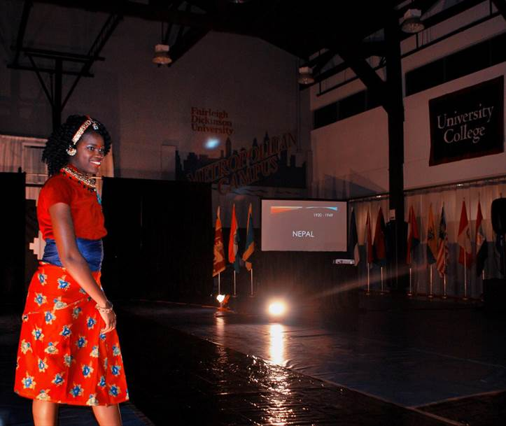 Rose Polynice fashion show