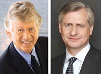 Ted Koppel and Jon Meacham