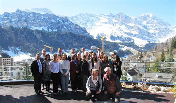 Switzerland group in Engelberg