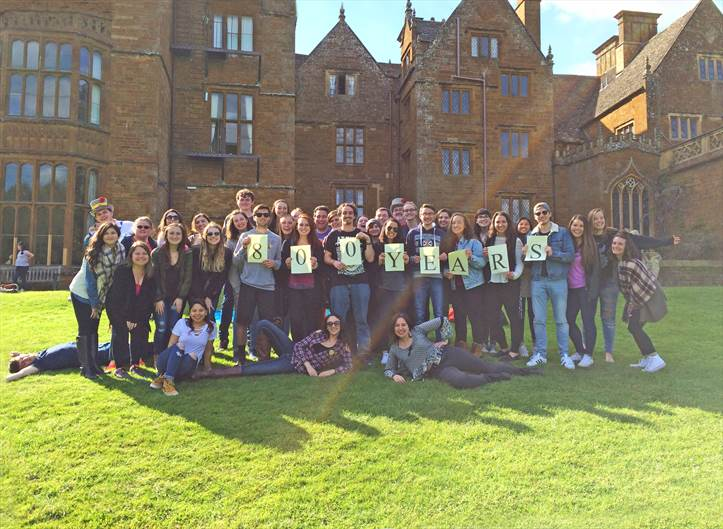 Wroxton Abbey 800th class photo
