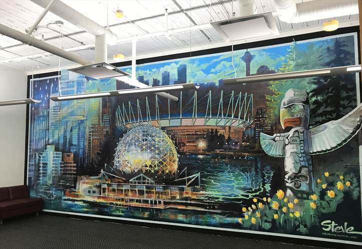 Vancouver Campus mural