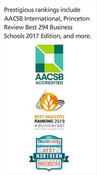 AACSB Accreditation and awards.