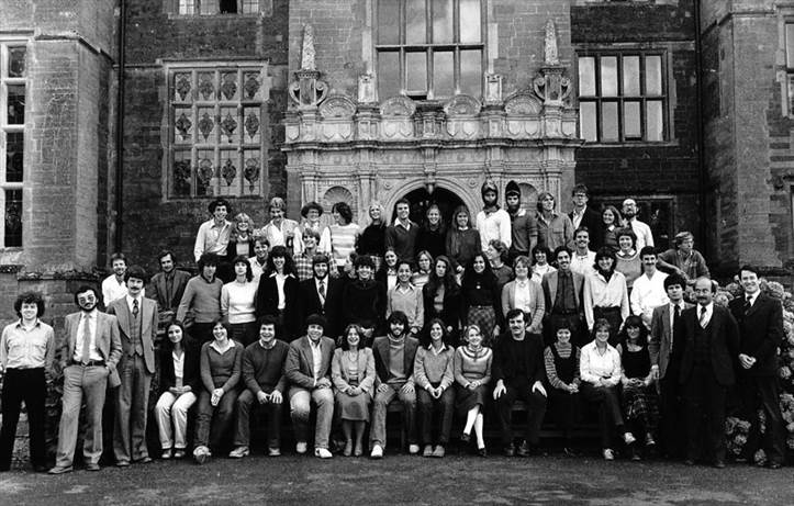 Wroxton College, class of fall 1980