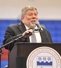 Wozniak at FDU